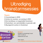 Visual uitnodiging brainstormsessies